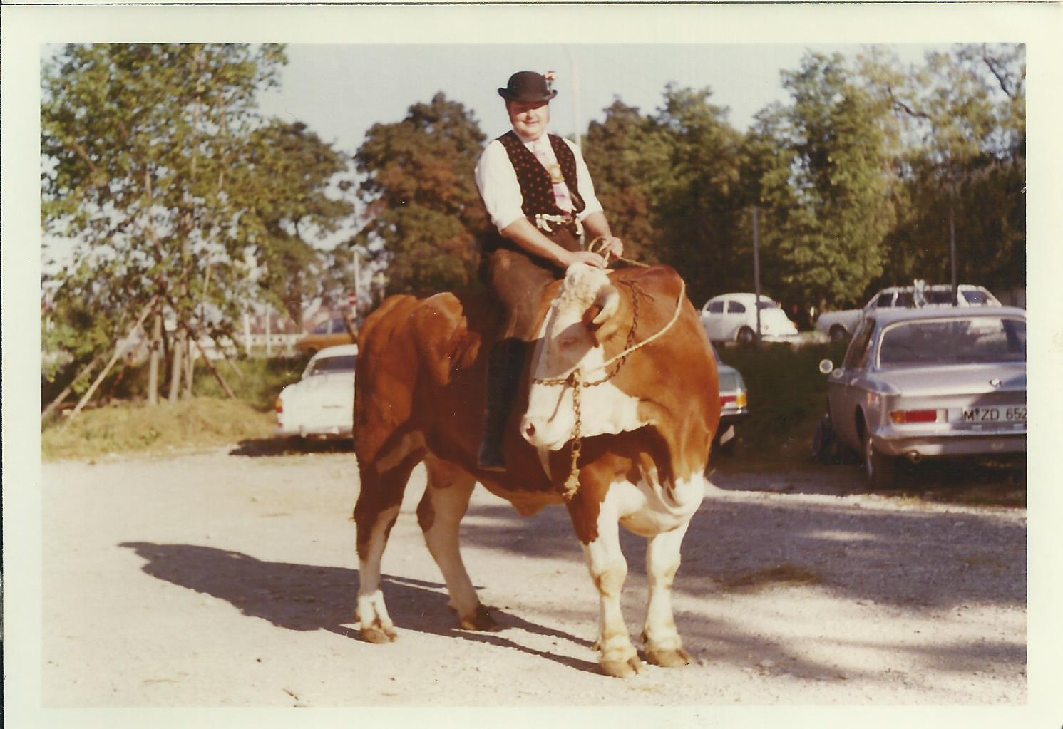 1. Münchner Ochsenrennen 1970