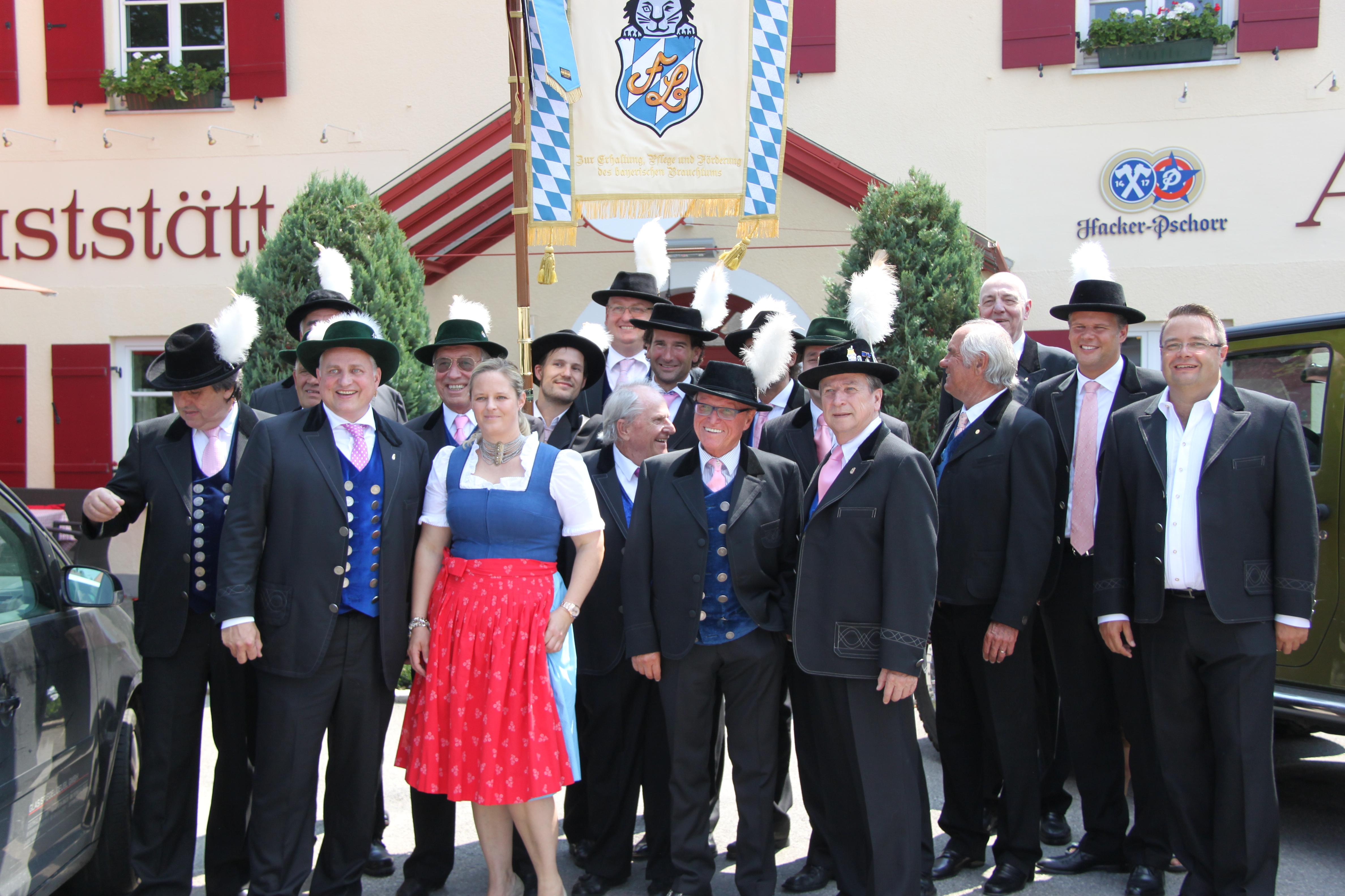 Filser-Fahnenweihe 2013