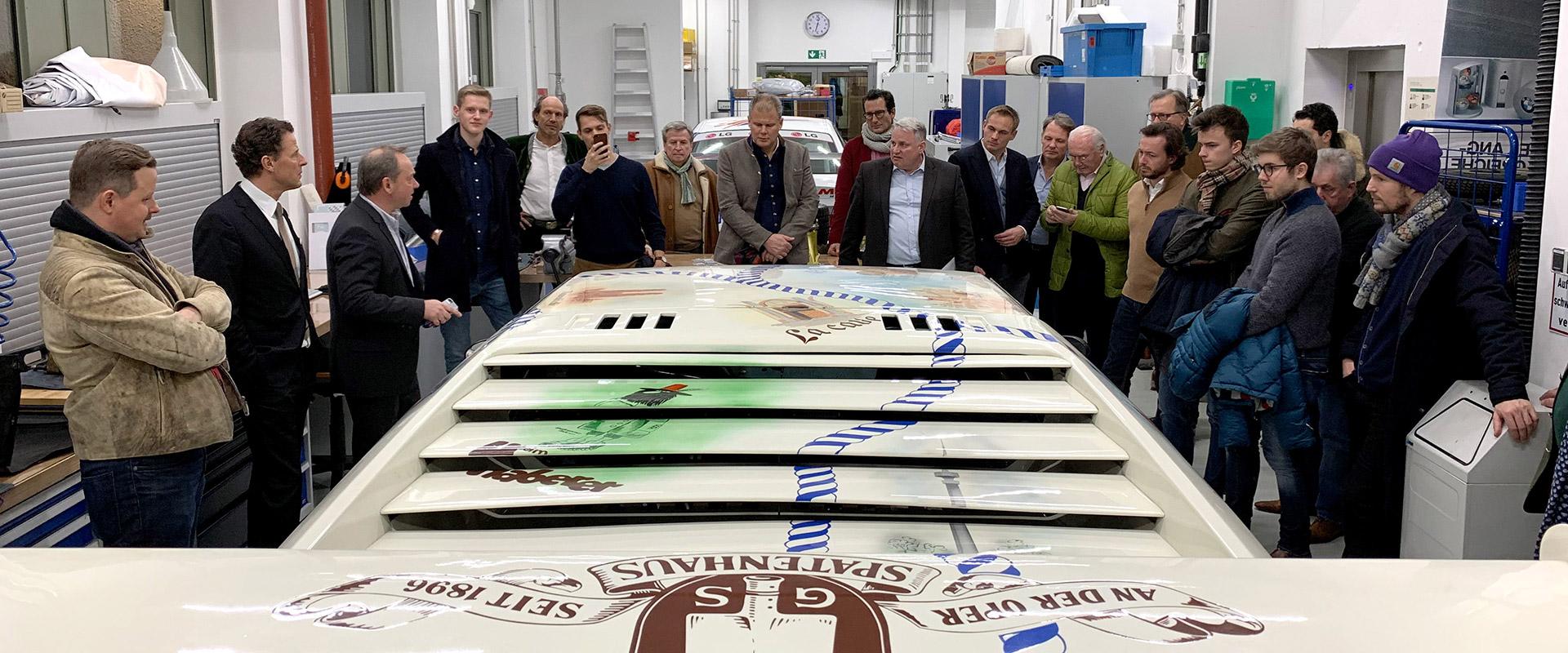 2019: zu Besuch in der BMW-Technikschmiede