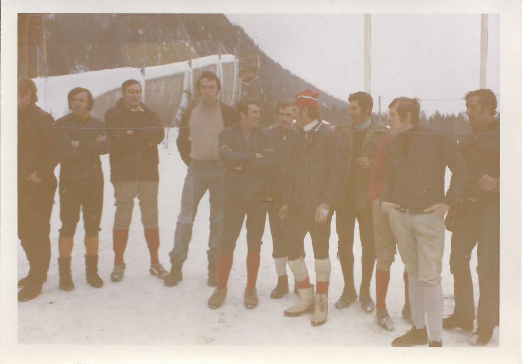 1971: Die wilden Kerle im Skeleton-Sport