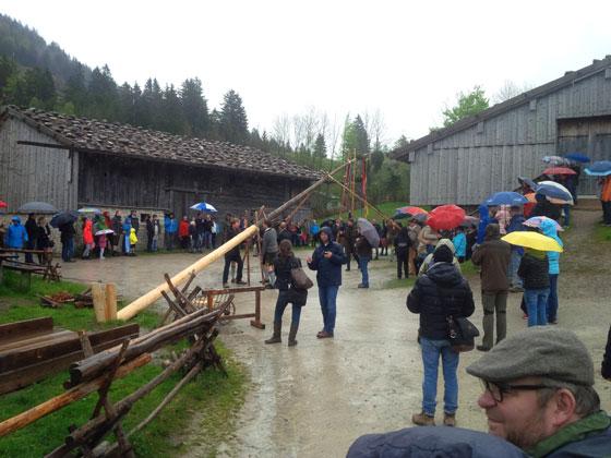 2015: Maibaumfest im Freilichtmuseum am Schliersee