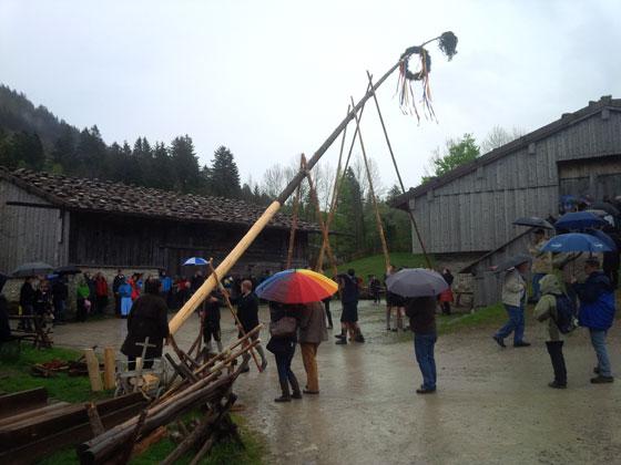 Maibaumfest Schliersee 2015