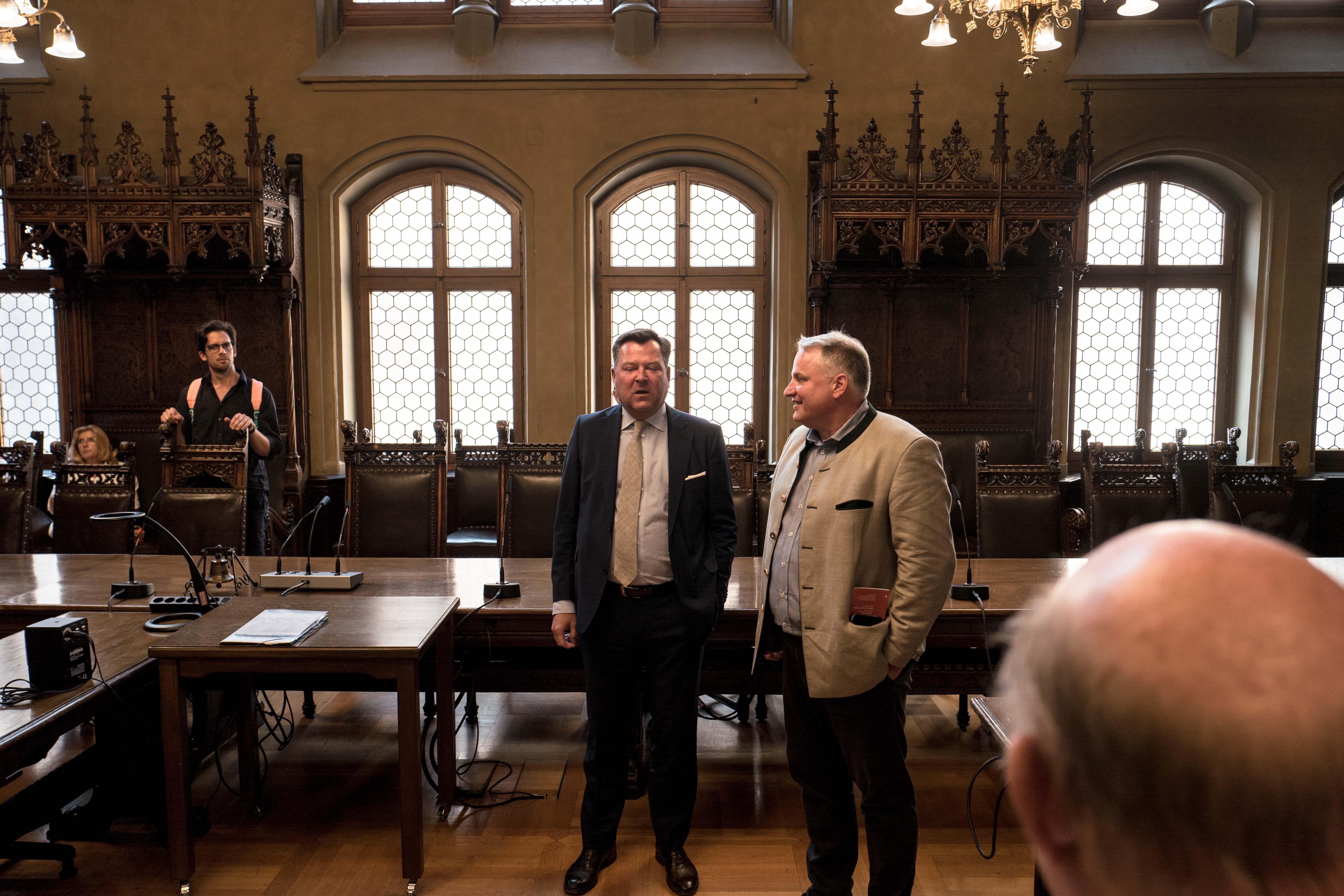 2016: Auf Rathaus-Inspektion