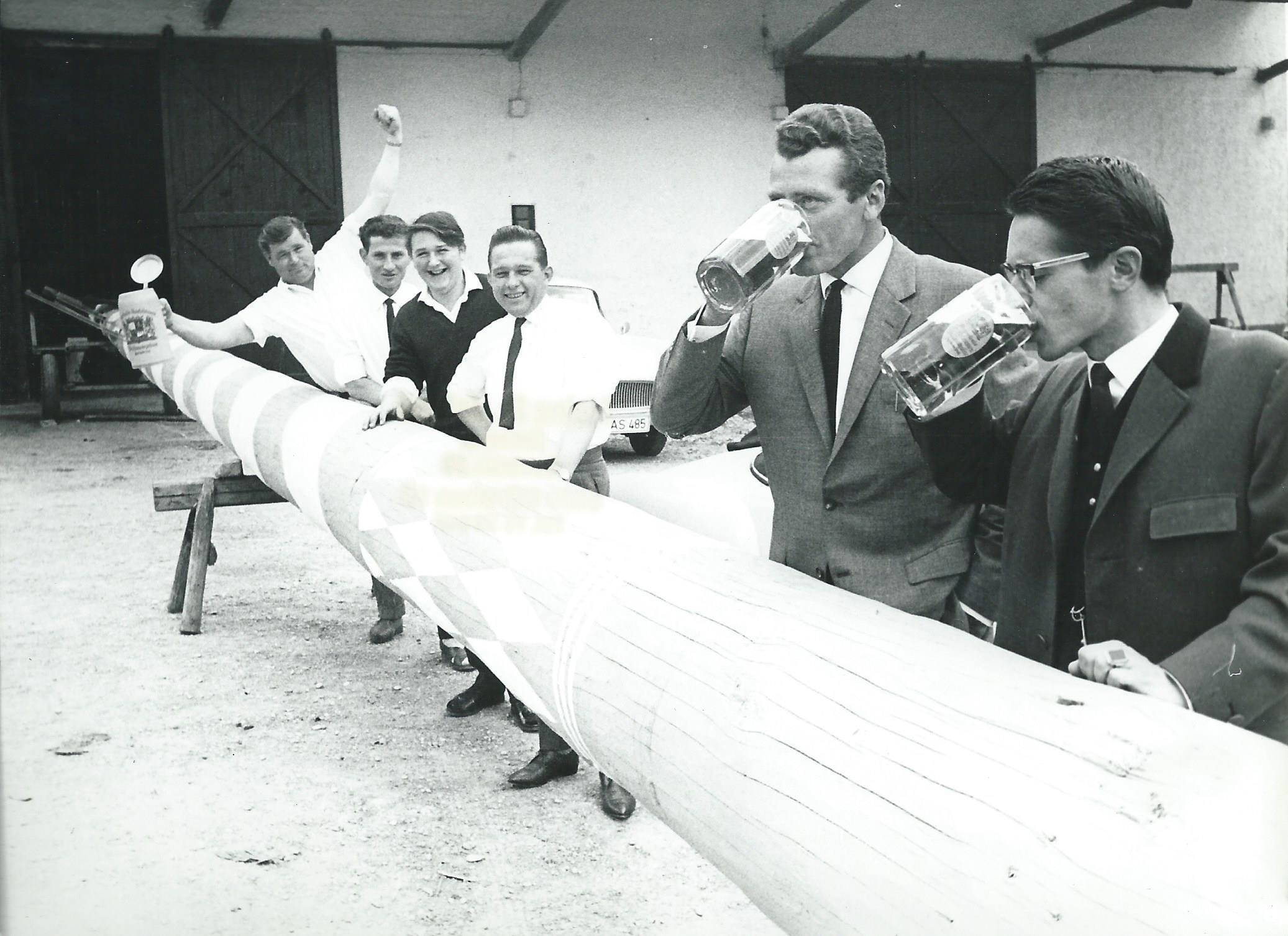 Massenhausener Maibaumräuber 1964